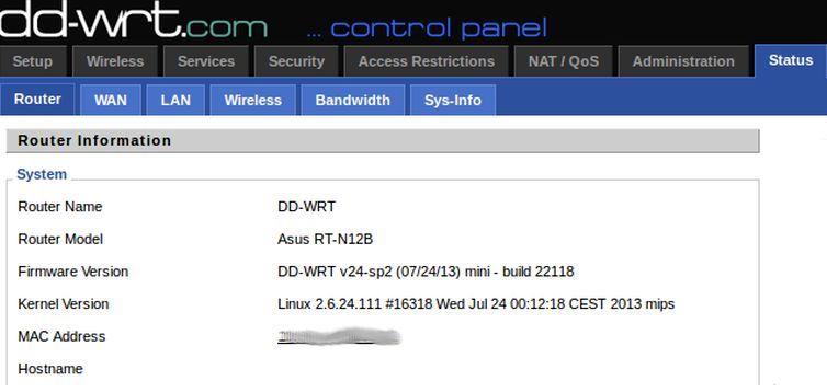 DD-WRT compatibility