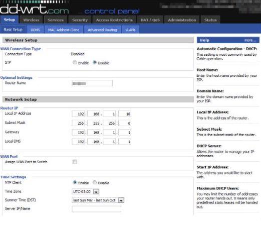 Open DD-WRT firmware database
