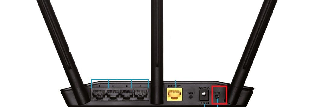 WPS in D-Link router