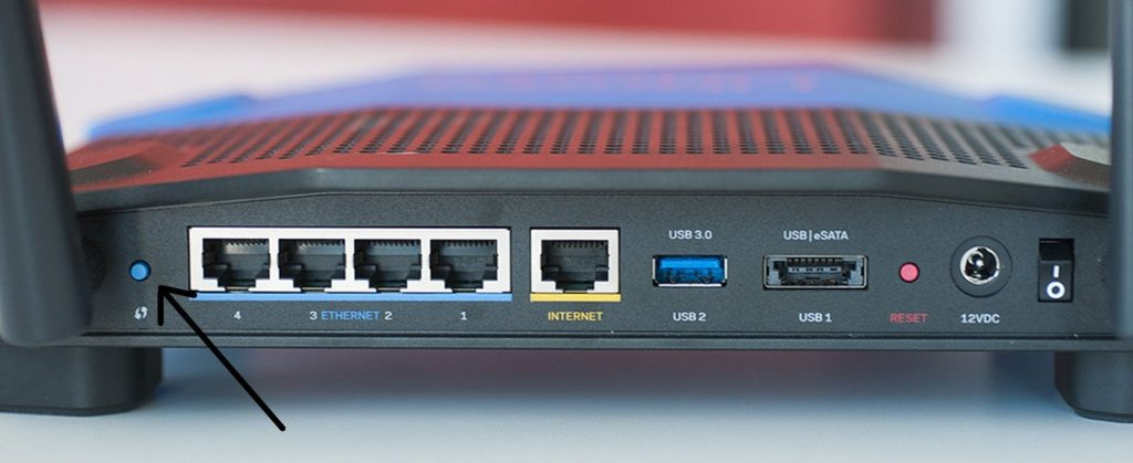 WPS in Linksys router