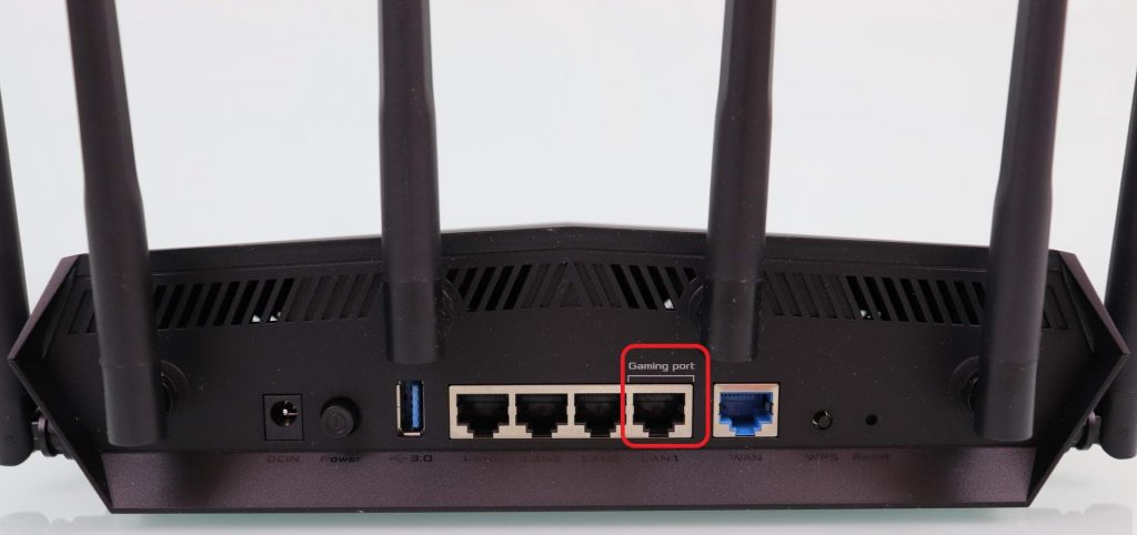 Connect PS4 on Gaming Port